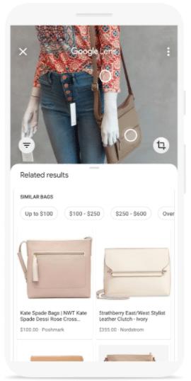 Image recognition in Google Lens