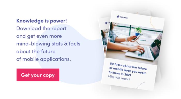 The future of mobile app development report